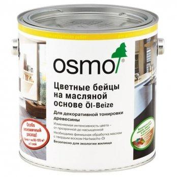 Масло для паркета osmo цветные бейцы 3512 серебристо-серое
