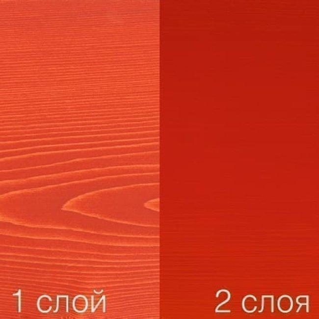 Масло для паркета osmo цветное DEKORWACHS 3104 красное