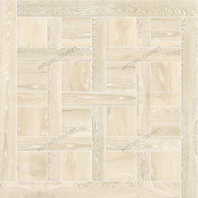 Белый паркет беленый Дуб Аделла
