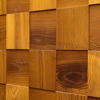 Деревянные стеновые панели 3d мозаика Жуэнвиль