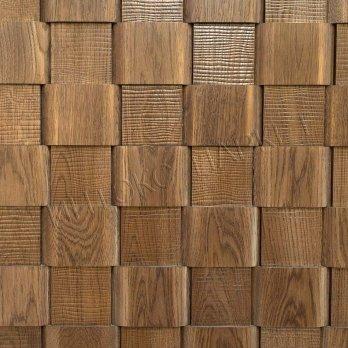 Деревянные стеновые панели 3d мозаика Синна
