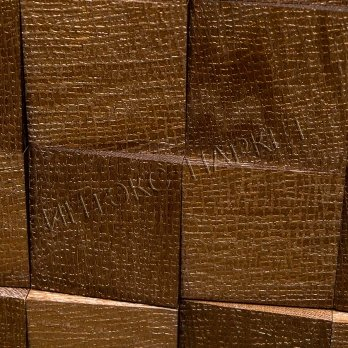 Деревянные стеновые панели 3d мозаика Моди