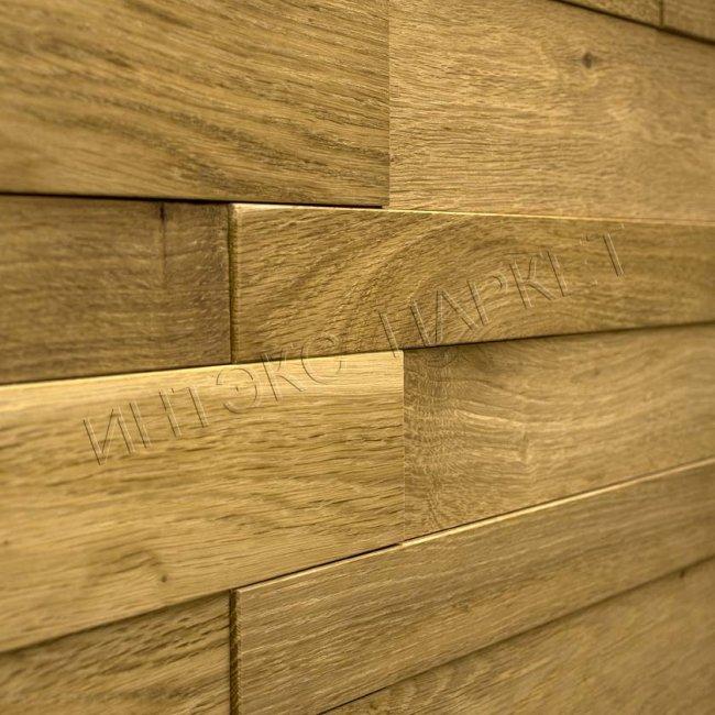 Деревянные стеновые панели 3d мозаика Молли